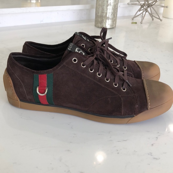 Gucci Other - Men's Gucci suede sneaker size 12